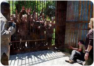 Rick Lincoln gate The Walking Dead Now