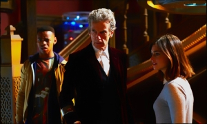RIgsy Doctor Clara Doctor Who Face the Raven
