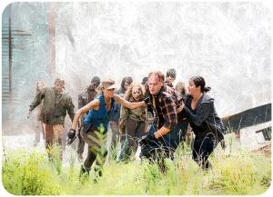 Rosita Tobin Tara The Walking Dead Start to Finish