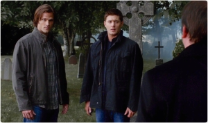 Sam Dean Crowley Supernatural Weekend At Bobbys