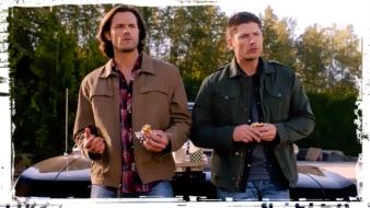 Sam Dean Impala burgers Supernatural Thin LIzzie