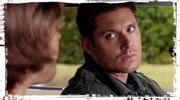 Sam Dean look Impala Supernatural Thin LIzzie