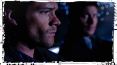 Sam Dean looks over impala Supernatural Plush