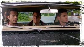 Sam Len Dean Impala Supernatural Thin LIzzie