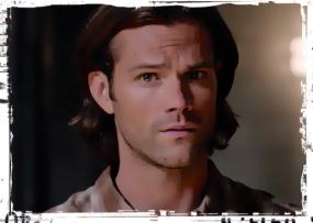 Sam look at Cas Supernatural Our LIttle World