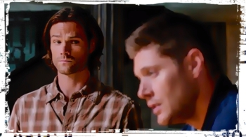 Sam looks at Dean Supernatural Our LIttle World