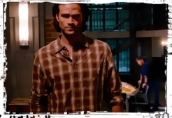 Sam walks away Dean Supernatural Our LIttle World