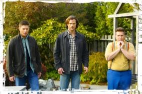 Dean Sam Sully Supernatural Just My Imagination