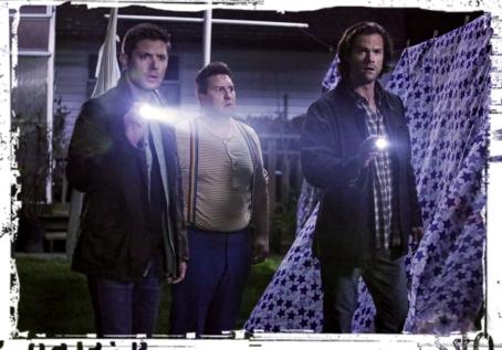 Dean Sully Sam flashlights Supernatural Just My imagination