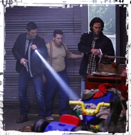 Dean Sully Sam Supernatural Just My imagination