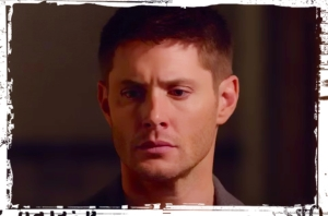 Dean Winchester Jensen Ackles CU Supernatural Just My Imagination
