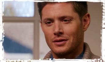 Dean Winchester Jensen Ackles laughs Supernatural Just My Imagination