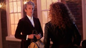 Doctor and River outside Doctor Who The Husbands of River Song
