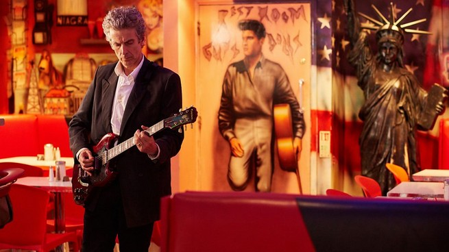 Doctor guitar Doctor Who Hell Bent