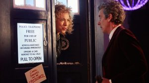 River Alex Kingston Peter Capaldi Doctor Who The Husbands of River Song