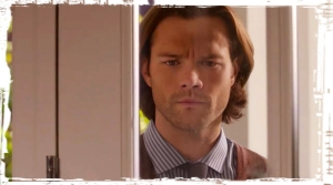 Sam Winchester Jared Padalecki door Supernatural Just My Imagination