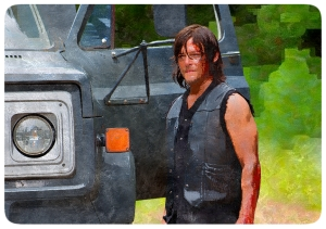 Daryl DIxon Norman Reedus The Walking Dead No Way Out