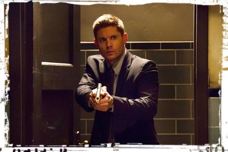 Dean gun bunker Supernatural Into the Mystic