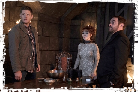 Dean Rowena Crowley look Supernatural The Devil in the Details