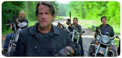 Negan's crew The Walking Dead No Way Out