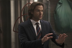 """Supernatural -- """"Into The Mystic"""" -- Image SN1111A_0115.jpg -- Pictured: Jared Padalecki as Sam -- Photo: Katie Yu/The CW -- © 2016 The CW Network, LLC. All Rights Reserved."""