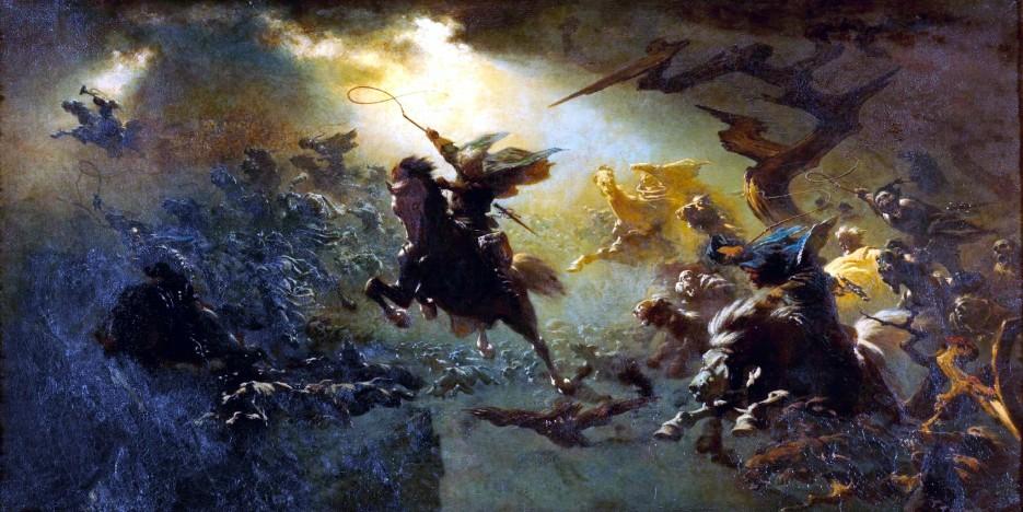 Der wilde Jäger von Johann Wilhelm Cordes, 1856 57