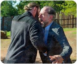 Ethan stabs Gregory The Walking Dead Knots Untie