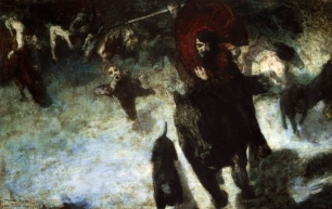 Franz Von Stuck The Wild Chase
