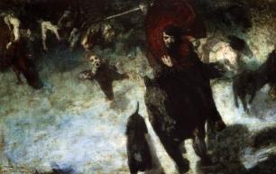 Franz Von Stuck The Wild Chase