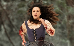 Marie Jeanne Valet runs Teen Wolf Maid of Gevaudan