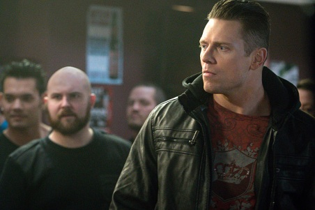 "Supernatural -- ""Beyond The Mat"" -- Image SN1115a_0229.jpg -- Pictured: Michael ""The Miz"" Mizanin as Shawn Harley -- Photo: Liane Hentscher/The CW -- © 2016 The CW Network, LLC. All Rights Reserved."