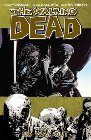 No Way Out The Walking Dead Comic cover