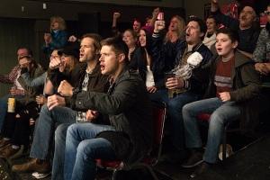 Sam Dean cheer 4 Supernatural Beyond the Mat