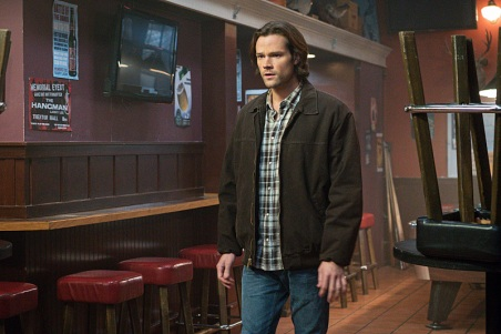 "Supernatural -- ""Beyond The Mat"" -- Image SN1115a_0383.jpg -- Pictured: Jared Padalecki as Sam -- Photo: Liane Hentscher/The CW -- © 2016 The CW Network, LLC. All Rights Reserved."