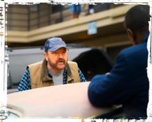 Bobby Rufus argue Supernatural Safe House