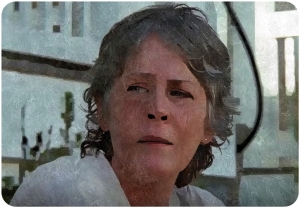 Carol steps The Walking Dead Twice as Far