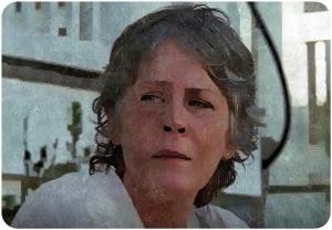 Carol steps The Walking Dead Twice as Far