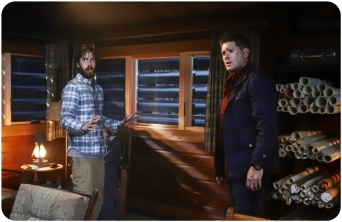 Dean cabin Supernatural Red Meat