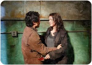 Glenn Maggie The Walking Dead The Same Boat