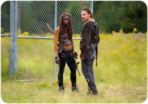 MIchonne Rick The Walking Dead Not Tomorrow Yet