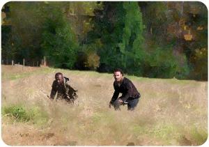 Morgan Rick The Walking Dead East