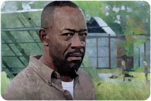 Morgan The Walking Dead Twice as Far