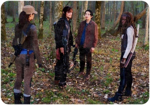 Rosita Daryl Glenn Michonne The Walking Dead East