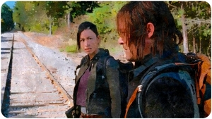 Rosita Daryl The Walking Dead Twice as Far