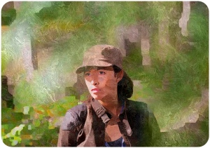 Rosita The Walking Dead East