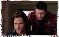 Sam Dean computer Supernatural Safe House