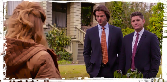 Sam Dean FBI Supernatural Safe House