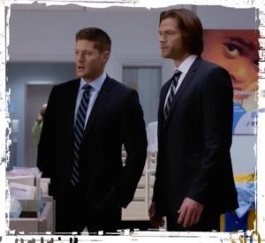 Sam Dean hospital Supernatural Safe House