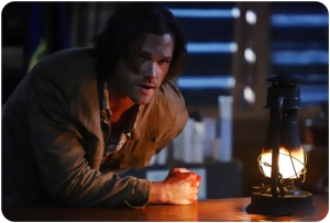 Sam lantern Supernatural Red Meat