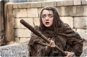 Arya Starck stick Game of Thrones The Red Woman